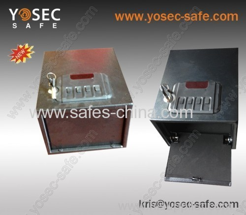 Yosec portable Handgun safe and gunvault/ Quick Access Drawer Safe with Spring-Loaded Drawer