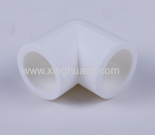 90° PPR elbow fittings and pipe from China