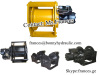 Hydraulic winch for piling machine drilling rig