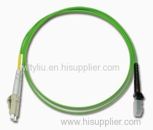 Fiber optic MT-RJ patch cord