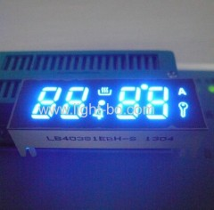 Custom Ultra Blue LED Display for Oven,4-Digit 0.38-inch 7 Segment