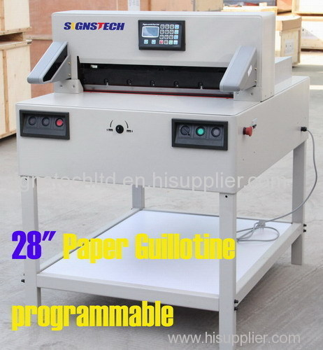 720mm Large Programmable Paper Guillotine Cutter Cutting Machine