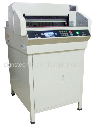 Economic Electric 460mm Paper Guillotine Cutter,independent clamp