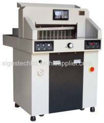 Hydraulic Programmable Paper Guillotine Cutter
