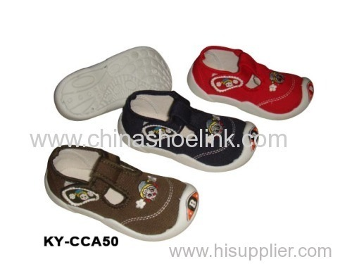 Child canvas loafers wholesaler