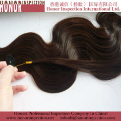 High-Quality Fiber wig Hair Inspection