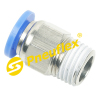 PC Male Connector Pneumatic Fittings,