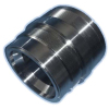 Piston rod guide sleeve
