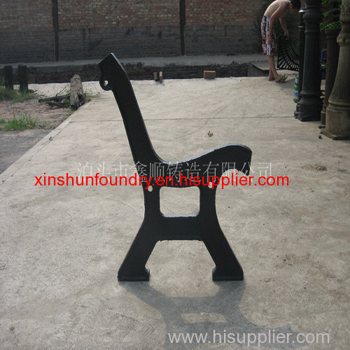 outdoor cast iron furniture bench leg for sale