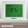 programmable touch screen thermostat