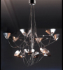 NEW Modern clear transparent glass shade Ceiling Light Pendant Lighting Lamp Chandelier