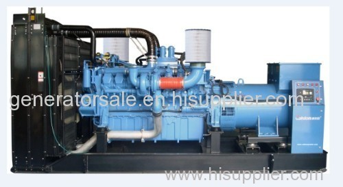 60HZ MTU Open Type Diesel Generator Set
