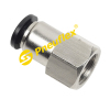PCF Female Connector NPT Thread Pneumatic Fitting
