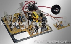 Foshan Factory offer Color TV chassis for 14 to21 inch CRT TV Mainboard 198 TO 198
