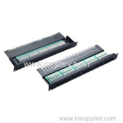 Patch Panel 50 Port Cat.3 Telephone Patch Panel