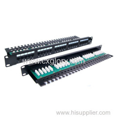 Patch Panel 25 Port Cat.3 Telephone Patch Panel