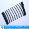 Uniaxial plastic geogrid for civil construction