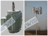0.2kw-50kw vertical axis wind turbine generator