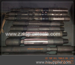 Cased hole DST tool Vertical shock absorber