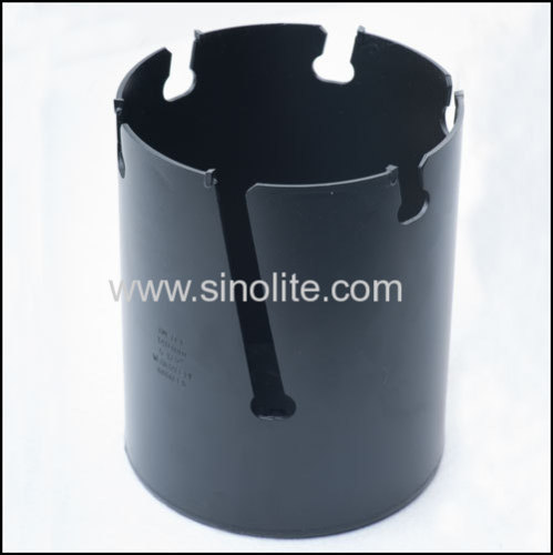 Hole Cutter to cut holes on hard wood, made by seamless steel pipe