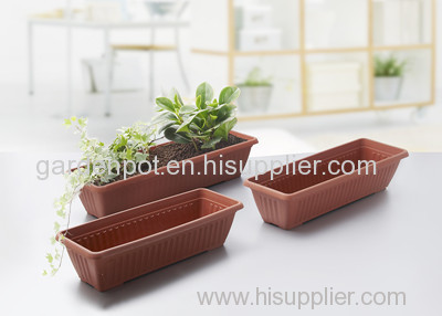 Plastic Flower Pot Clay Garden Plant Container Nursery
