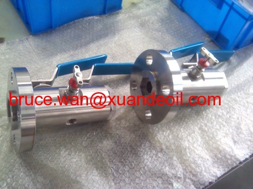 Double block and bleed valve(ball valve and needle valve),instrument vavle