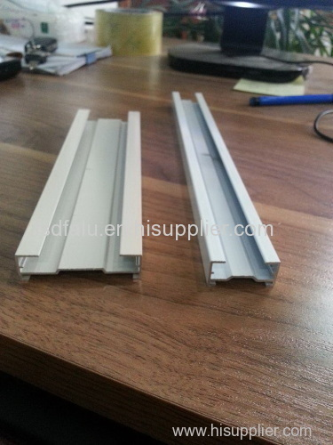 pleated blind profile1/honey comb blind/curtain track profile
