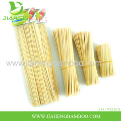 8 Inch To 12 Inch Round Natural BBQ Bamboo Skewers