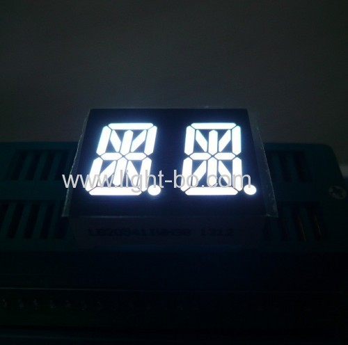 Ultra Blue 14 SegmentLED Display Common Anode 0.54Dual Digit for home appliances