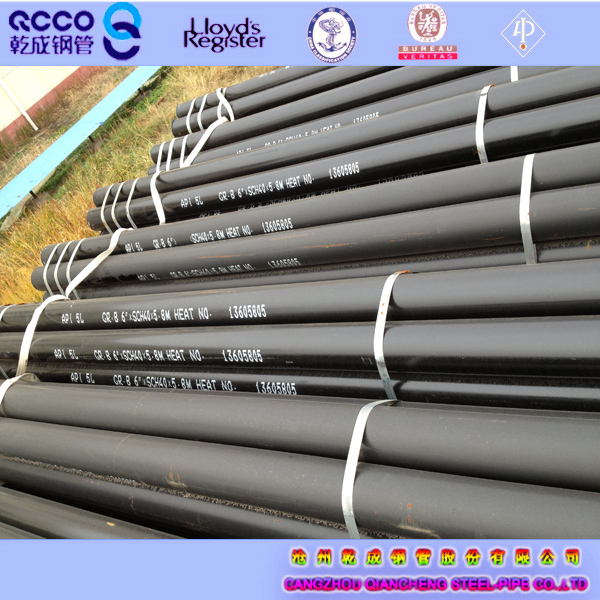 Seamless carbon API 5L PSL2 X60 X65 559mm pipes