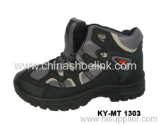 High quality China men hiking shoes with shock absorption outsole (KY-MT-1303)