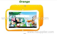 7 inch kids tablets for learning, best Children tablet pc android 4.2