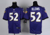 High Quality NFL Baltimore Ravens Ray Lewis #52 Game Jersey, Player Jersey - Purple