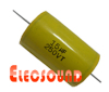 METALLIZED POLYESTER FILM CAPACITOR-AXIAL