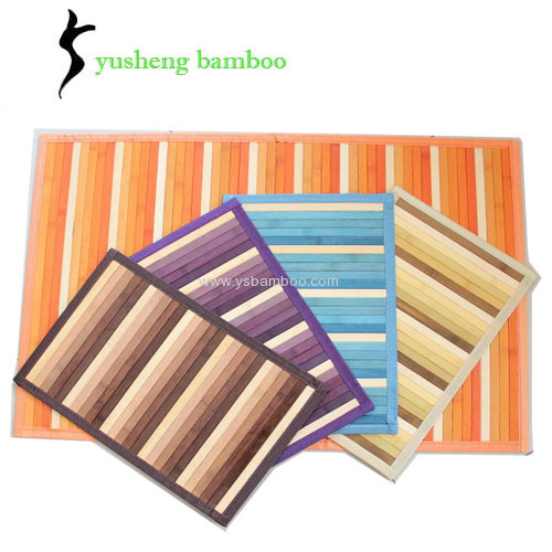 Attractive Painted Bamboo Rugs