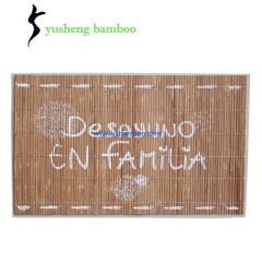 Bamboo Disposable Christmas Placemats