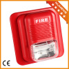 Fire siren and strobe light for fire alarm system
