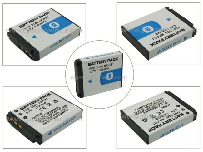 China wholesale 1300mAh NP-FR1 FR1 camera battery for sony with high quality