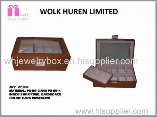 Fashion Jewelry Display Box For Men