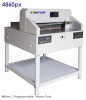 480mm Programmable Paper Cutter Guillotine