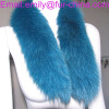 Dyed Fox Fur Trimming