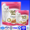 Hot Sale Printed Cat Food Bag Stand Up Packaging With Value And Zipper