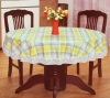 PVC Tablecloth with Non-woven Back