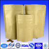 Coffee paper bag with zipper