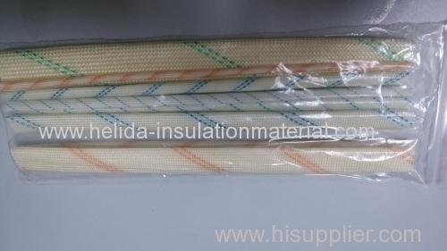 2753 silicon resin self-extinguishable fiberglass sleeving Diameter:0.5mm-25mm Conform to UL1441 standards, Color: Blue