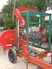 portable wood mill diesel engine