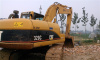 used hydraulic construction excavator caterpillar 320C(3)