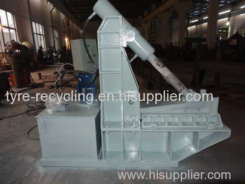Pyrolysis tire recycle plant