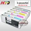 (6 pieces/set) 700ml compatible ink cartridges for Epson SL-D3000 ink cartridge with Anti-UV dye ink & chips