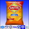 heat seal plastic chips bags with handhole